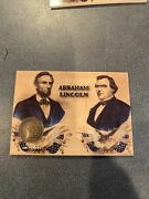 2019 Historic Autographs Civil War Divided Lincoln Indian Penny 1864 48/150