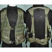 Tactical Fighting Load Carrier Vest Molle Acu Lbv Us Army Military Adjustable