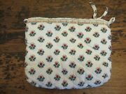 Htf Vtg Pierre Deux Souleiado Quilted Bag Purse Clutch French Country Provence