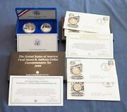 Lot Of 1986 Liberty Two Coin Set And First Coin Commemorative Sets - Free Ship Us