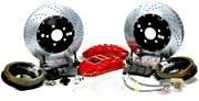 Baer Brake System 14 Inch Rear Extreme+ Fits Ford 9 Early Big Bearing Rear End