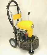 Bluerock ® Tools Sds200b 2 - 8 Sectional Pipe Drain Cleaning Machine And Snake