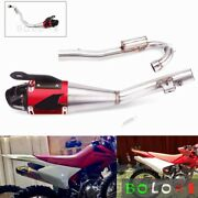Complet Exhaust Muffler System Pipe 100cm Length For Honda Crf230f Crf230 08-20