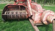 Massey Hay Baler Lovely Working Condition Stored Inside Been Baling This Year