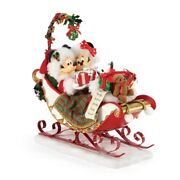 Disney Possible Dreams By Dept 56 Sleigh Bells And Mistletoe Great Gift 6006012