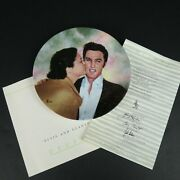 Elvis Looking At A Legend Collectors Plate Elvis And Gladys 1990 Boxed Coa Dephi