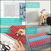 Creative Grids Stripology Xl Slotted Quilting Ruler, Template Designed