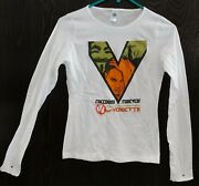 V For Vendetta 2006 Womanand039s Size Small Long Sleeve Movie T-shirt