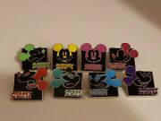 Disney Trading Pins 2013 Mickey Mouse Expression Mystery Set Of 8
