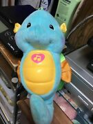 Fisher Price Soothe And Glow Seahorse Blue 2012 Musical Lights Ocean