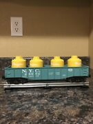 Lionel Trains O Gauge New York Central Pacemaker Gondola With Containers 26652