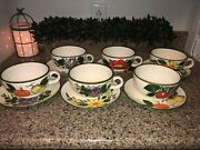 Vintage Royal Sealy Cups And Saucer Set