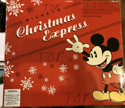 Lionel 30076 Disney Mickeyand039s Christmas Express O Gauge Train Set Limited Edition