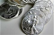 2015 Roll Of 20 1 Oz American Silver Eagles 20 Brilliant Uncirculated Coins
