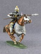 ● New Kyiv Rus Warrior With Spear 1245 Year Soldier Tin Toy Scale 1/32 54mm●