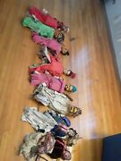 8 Antique Oprah Puppets Chinese