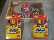Brand New Melissa And Doug 10 Piece Band-in-a-box And 2 Packs Of Classic Markers