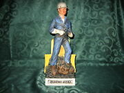 Old Bardstown Ceramic Decanter .....surface Miner ...empty