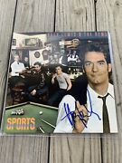 Huey Lewis And The News Autographed Signed Vinyl Sport Bas Coa Beckett Record Lp