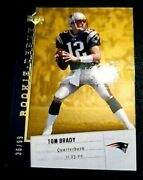 Tom Brady 2006 Upper Deck Rare Gold Rookie Debut And039d 36/99 Patriots