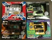 Lot Of 4 Johnny Lightning Movie/tv 164 Scale Die Cast Activity Sets Happy Days
