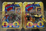 Lot Of 2 - Marveland039s Greatest Moments Action Figures Toy Biz Rare Thanos Spider