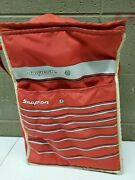 Vintage Snap On Insulated Cooler Lunchbox Tool Box Red White C200