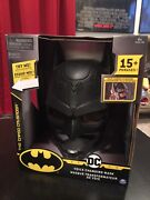 New Dc Batman Voice Changing Mask With Over 15 Phrases For Kids Aged 4+