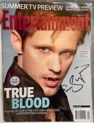 Entertainment Weekly 2012 True Blood Collectors Cover Alexander Skarsgard Signed