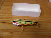 Beautiful Contemporary C Hines Heddon Style 1600 Wiggler In Strawberry Color