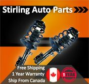 2001 2002 For Dodge Grand Caravan Front Complete Strut And Spring Assembly Pair