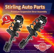 2001 2002 2003 Dodge Grand Caravan Front Complete Strut And Spring Assembly Pair
