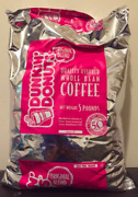 Dunkin Donuts Whole Bean Coffee 5 Lbs Bag