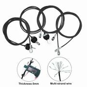 1.4m-3m Home Gym Heavy Duty Cable Wire Rope Steel Replacement Parts Free Shippin