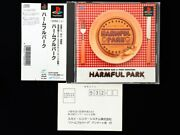 Playstation Ps Harmful Park Gag And Shooting Japan Very Good Condition