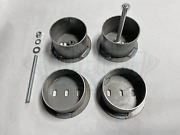 Front Air Bag Brackets - Universal Cups - 4.5 Od Set W/ Hardware - Free Shipping