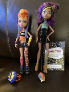 Mattel Monster High Howleen And Clawdeen Wolf Dolls - Accessories And Pet Included