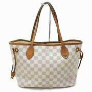Louis Vuitton Small Damier Azur Neverfull Pm Tote Bag 862305