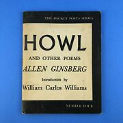 Howl And Other Poems By Allen Ginsberg - City Lights First Edition 11th Printing
