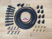 25andrsquo Packard 440 Copper Core 7 Mm Spark Plug Wire Build Your Own Kit - Delco 7mm