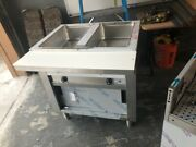 Advance Tabco Hot Food Table Steamtable Sw-2e-240-dr Electric - 2 Wells