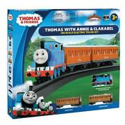 Bachmann 00642be Thomas With Annie And Clarabel 00 Scale Electric Train Set Cour