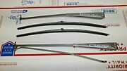 1970 Cadillac Deville Windshield Wiper Arms With Nos Rubber Refill
