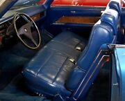 1970 70 Cadillac Coupe Deville Convertible Interior Colors Available