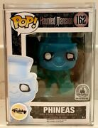 Funko Pop Phineas 162 The Haunted Mansion Disney Parks Exclusive