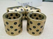 Danly Ms150-16 Lot Of 4 Straight Sleeve Bronze Bushings 1-1/2 X 2 X 2