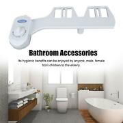 Dual Nozzle Cold Water Spray Bidet Toilet Seat Attachment For Women Ing