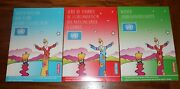 Set Of 3 United Nations 1997 Annual Stamp Collections / Ny, Geneva, Vienna / Max