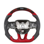 2015-2019 Dodge Charger Led Carbon Fiber Steering Wheel For Charger Challenger