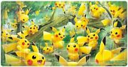 Pikachu Forest Outbreak Playmat Japanese Exclusive Official Pokemon Play Mat Tcg